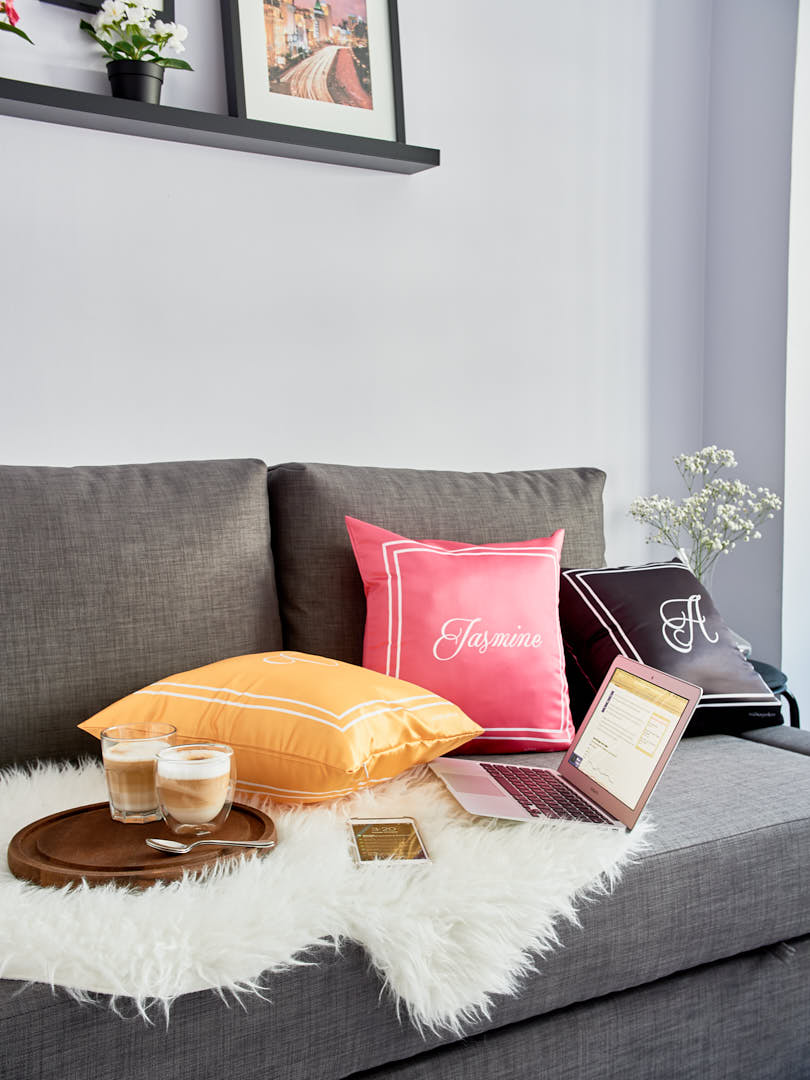 personalised pillows by atd