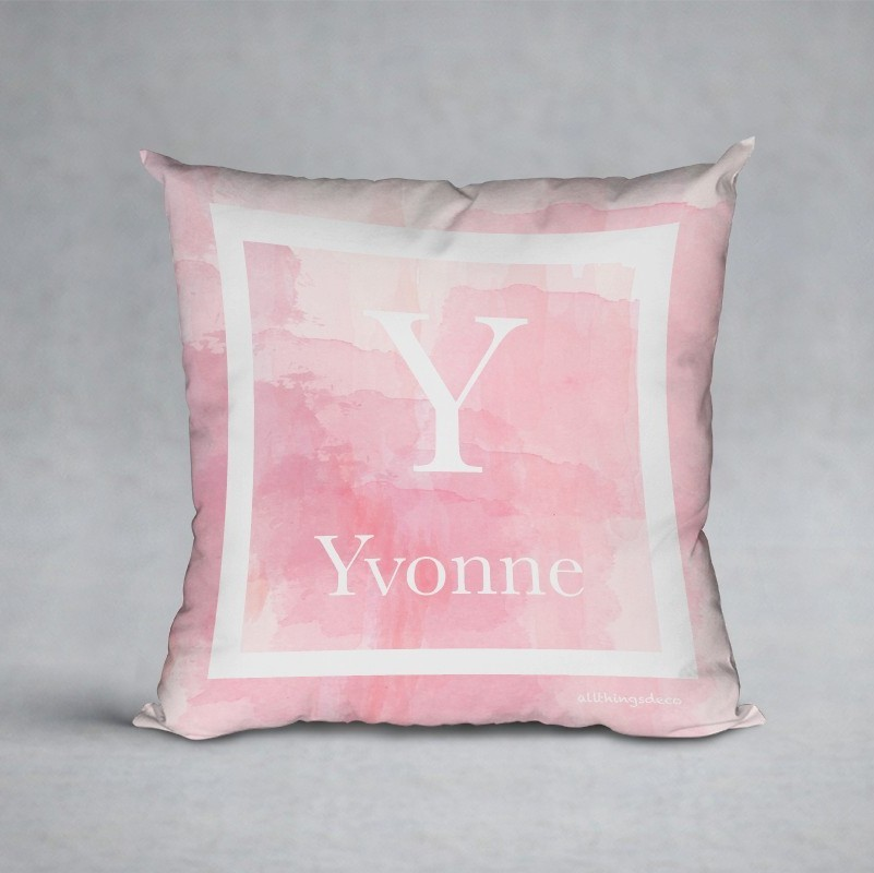 blush hues pillow