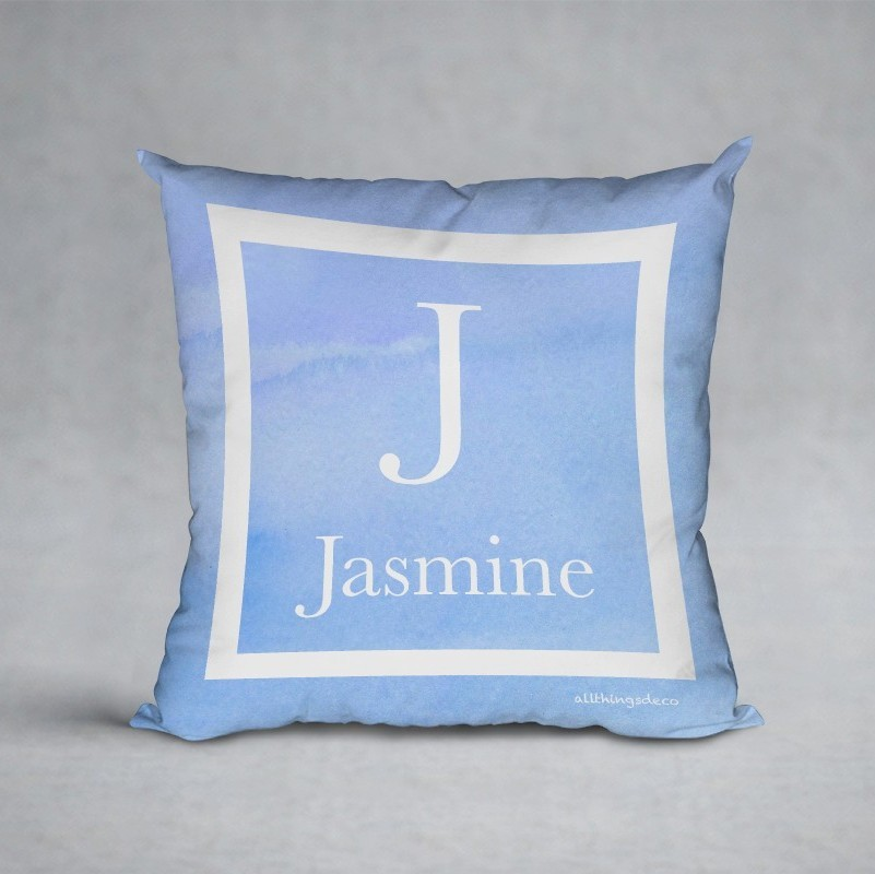 sky hues pillow