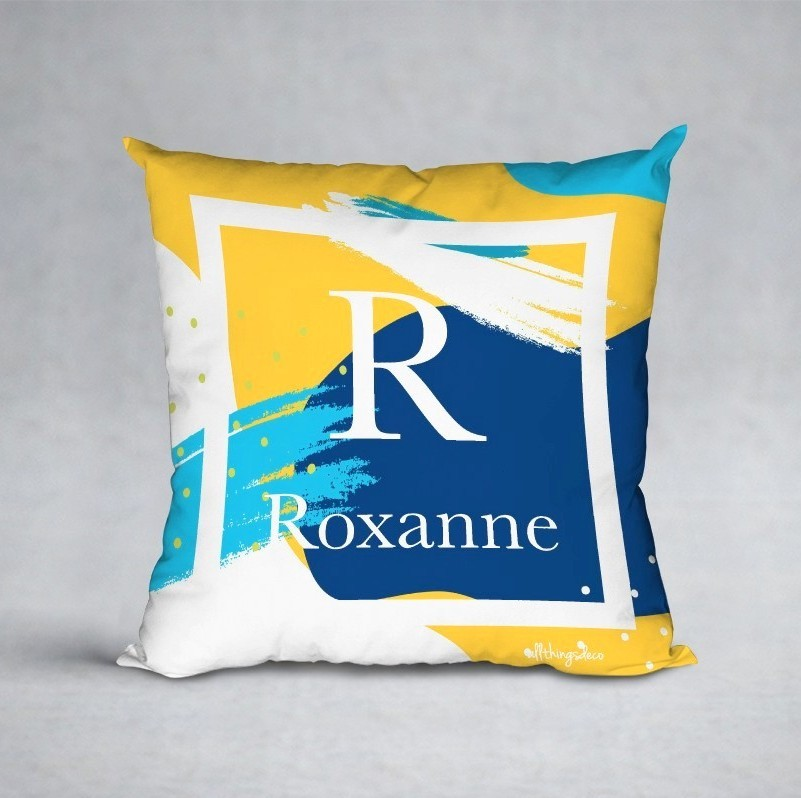 Ocean Rhapsody cushion
