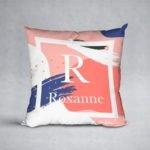 Pink Horizon cushion
