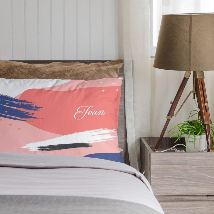 pink swish pillowcase