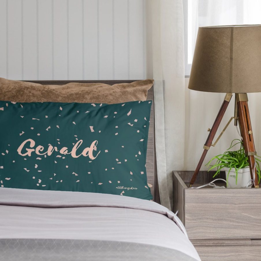 Lindsey Pillowcases by ATD. Personalised pillowcases