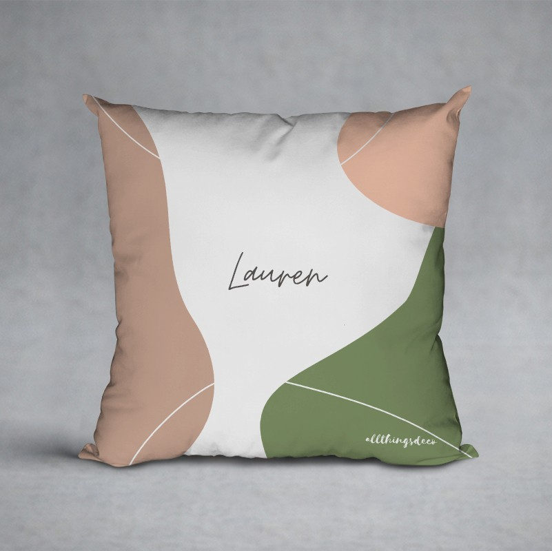 back to nature terra pillow