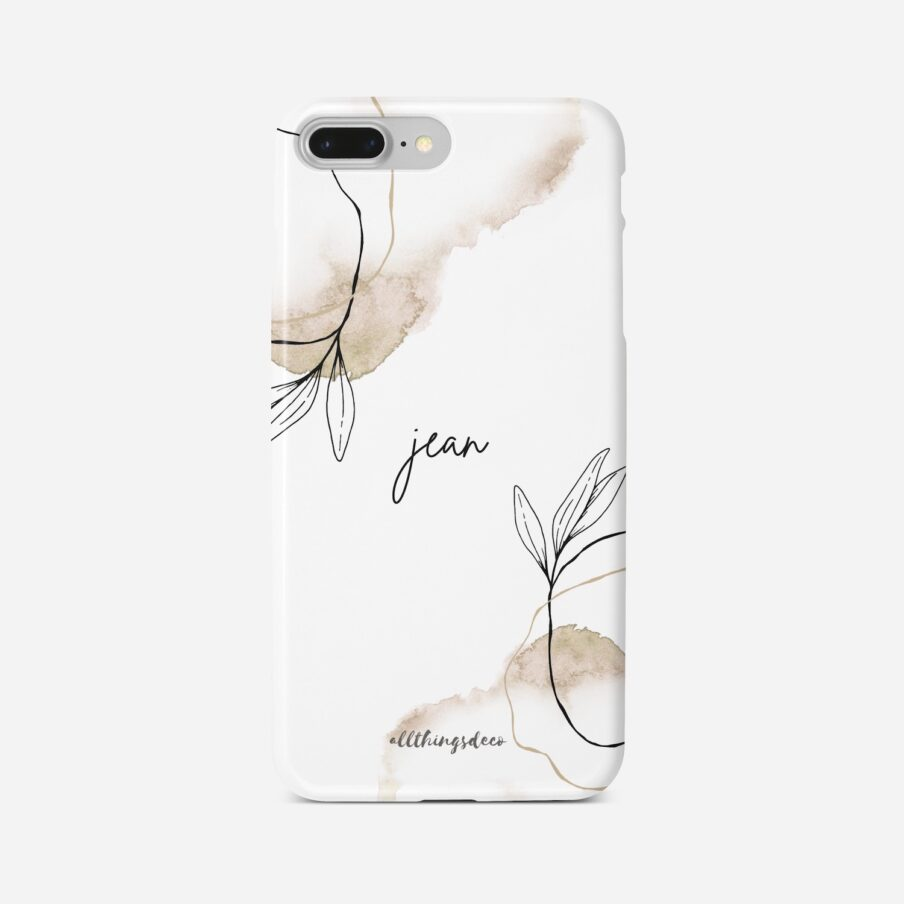 new beginnings phonecase white